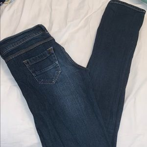 """Jayden"" Dark Wash Skinny Jean"